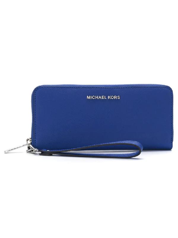 73ae9b8da Michael Kors Women's Wallet Genuine Leather Coin Case Holder Purse Card  Bifold Jet Set Travel Lg