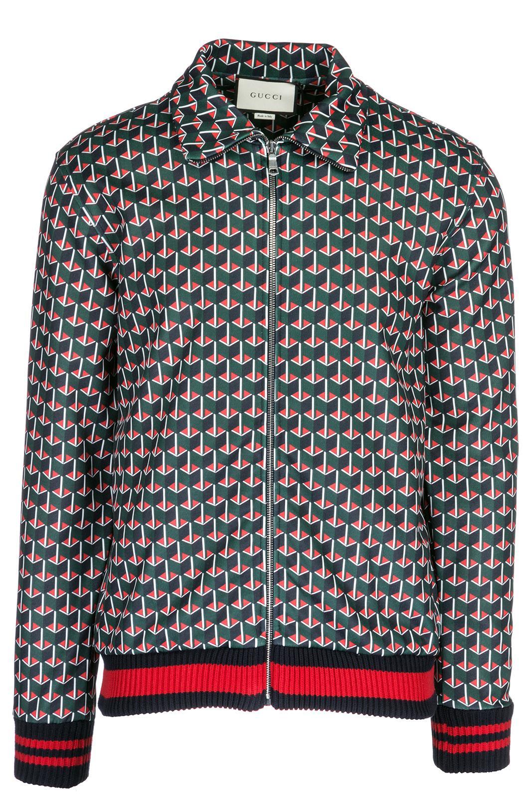 Gucci Men's Outerwear Jacket Blouson In Green