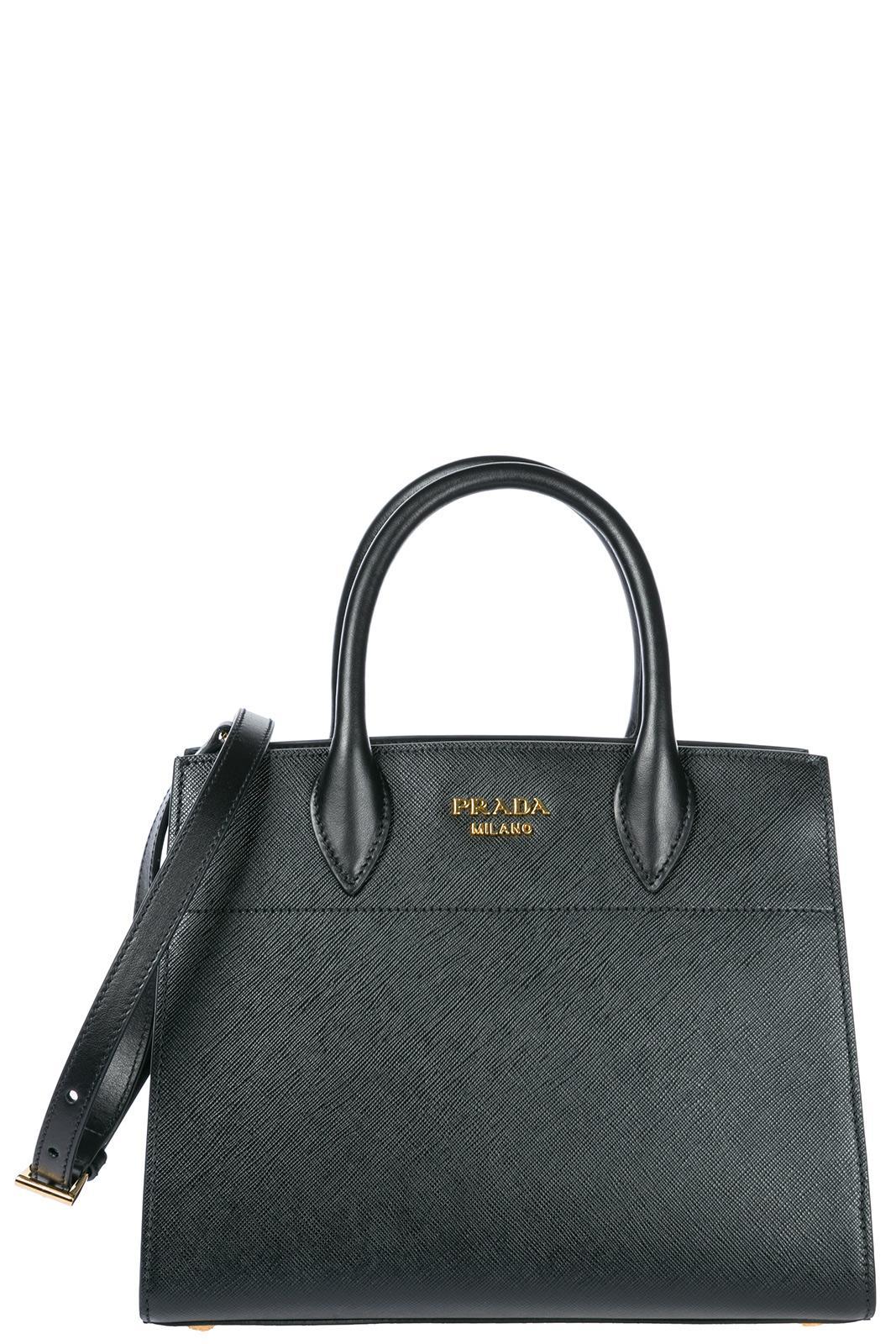 Prada Women's Handbag Cross-body Messenger Bag Purse In Black