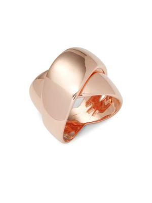 Roberto Coin Rose Gold Crossover Ring