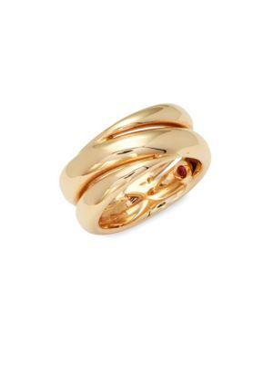 Roberto Coin Rose Gold Double Band Ring