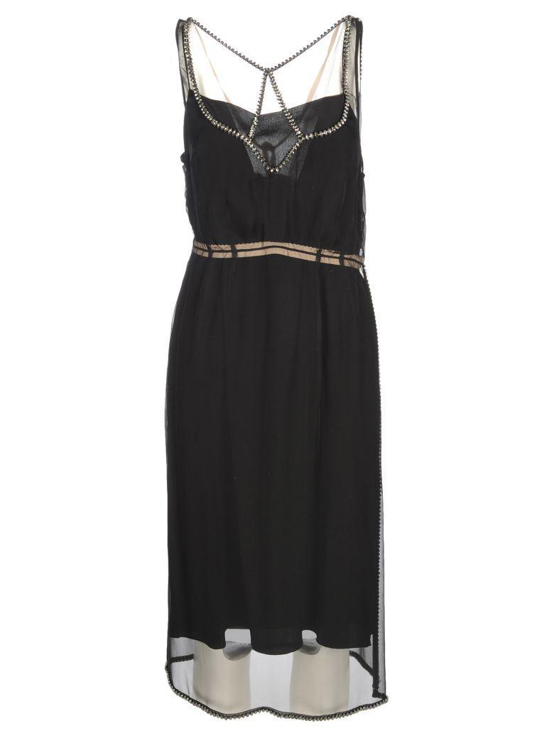N°21 N21 Dress Strass In Black