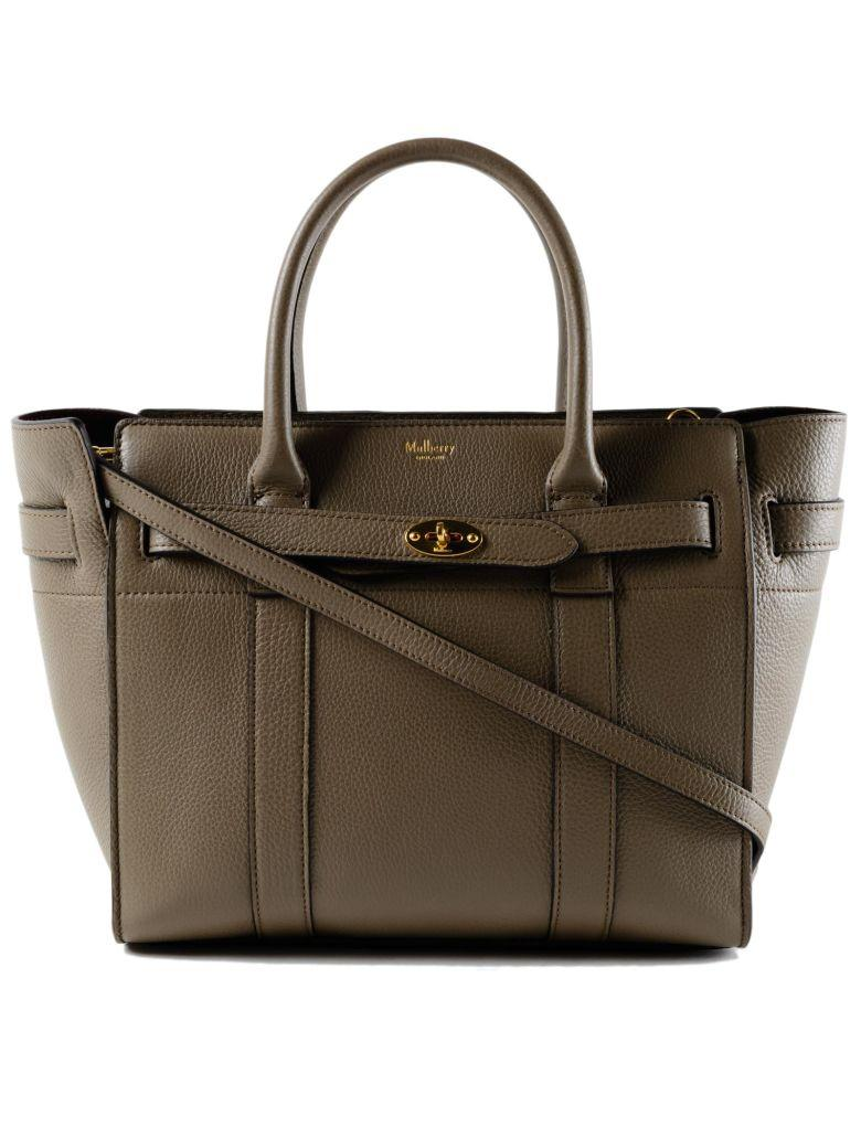 Mulberry Bayswater Zipped Bag In Dclay
