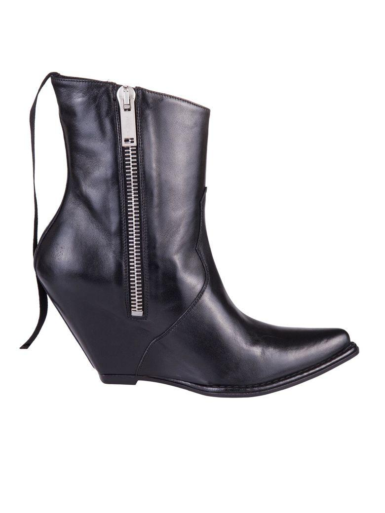Ben Taverniti Unravel Project Boots In Nero