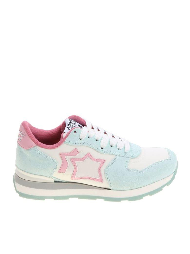 Atlantic Stars Vega Sneakers In White-pink
