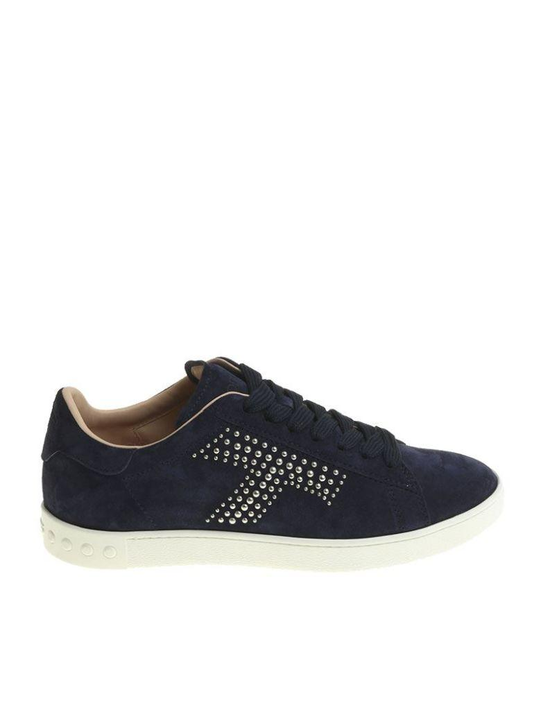Tod's Classic Sneakers In Blue
