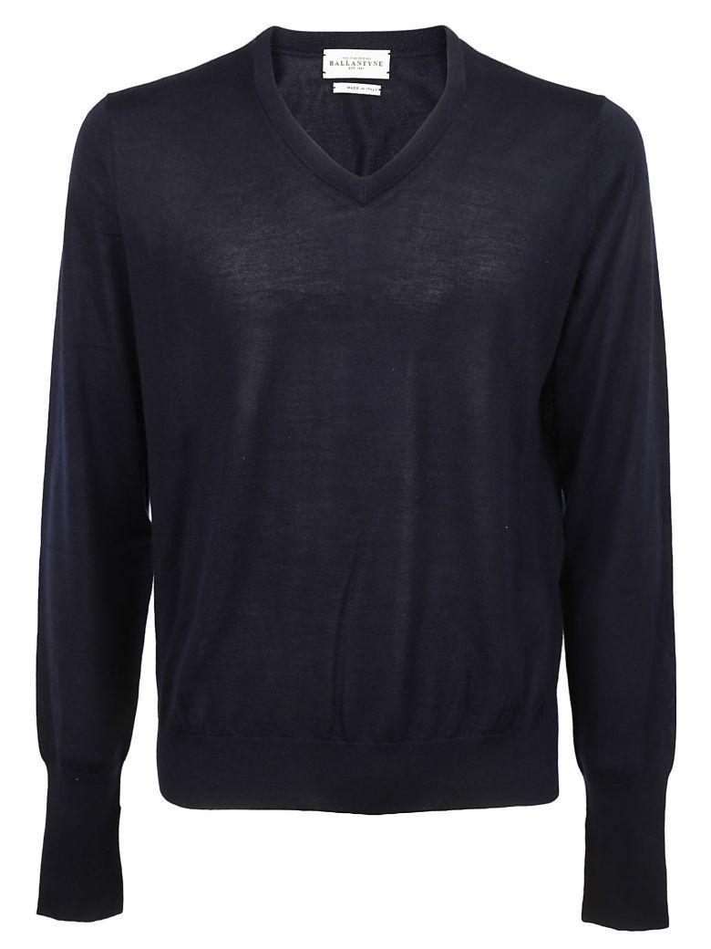 Ballantyne Fitted Sweater In Black