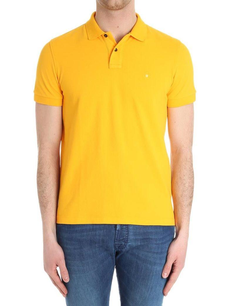 Luigi Borrelli Classic Polo Shirt In Yellow