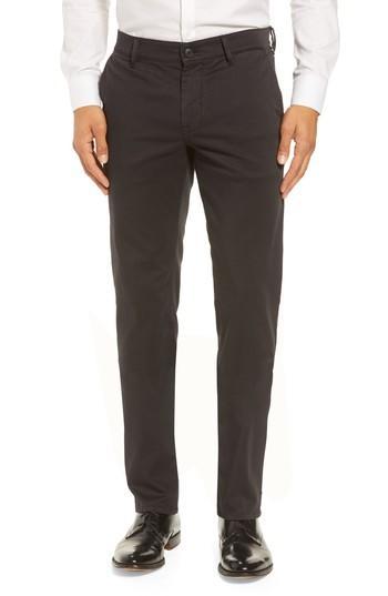 Hugo Boss Stretch Chino Pants In Black