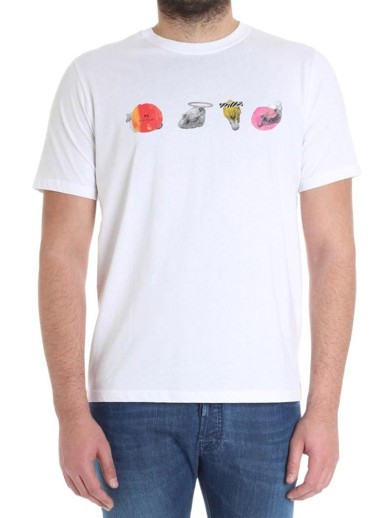 Paul Smith Printed T-Shirt In White