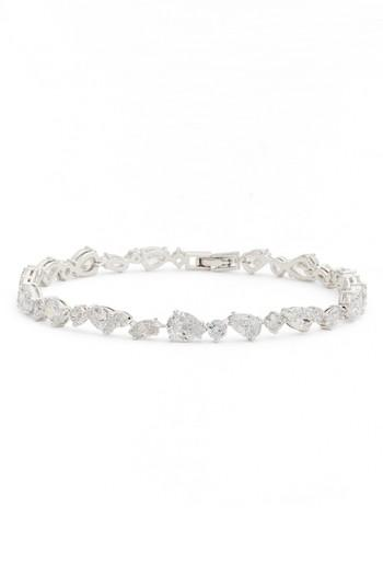 Nadri Ava Line Bracelet In Silver