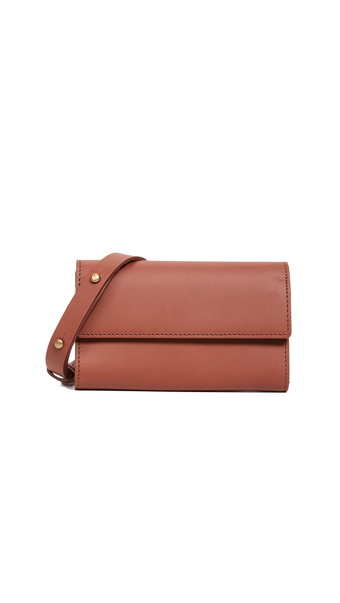 Vereverto Ado Convertible Belt Bag In Brown