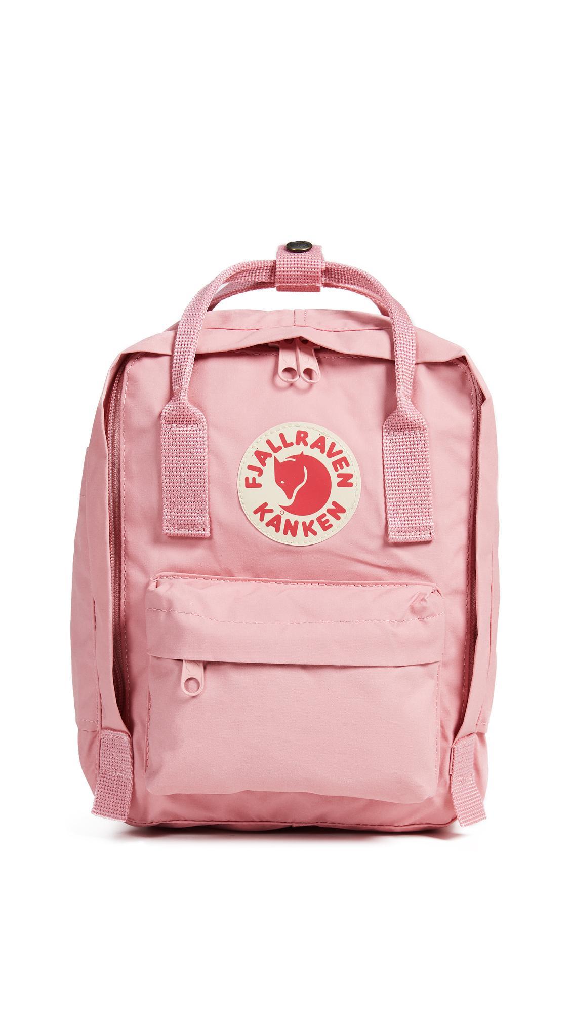0c9adec1a3b7 Fjall Raven Kanken Mini Backpack In Pink