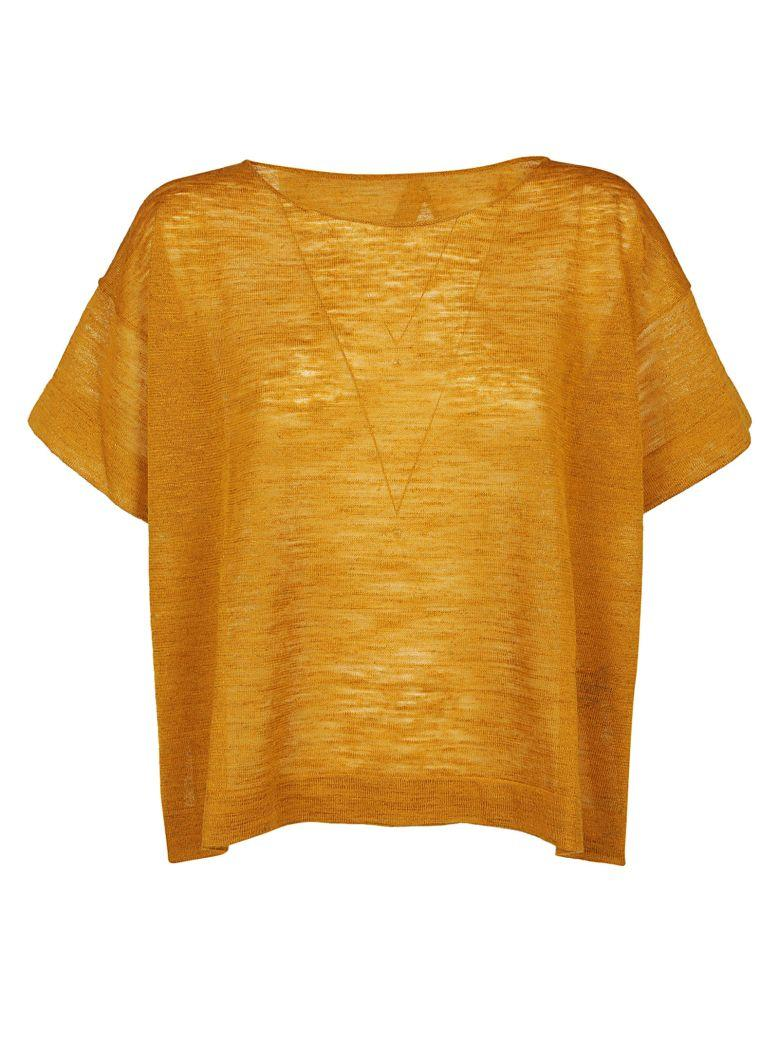 Roberto Collina Boxy T-shirt In Giallo