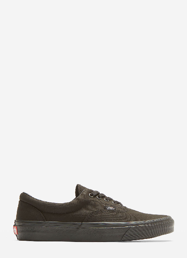 Vans Authentic Lace-up Sneakers In Black