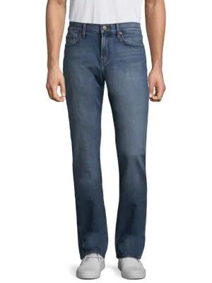 J Brand Tyler Slim Straight Jeans In Hammerhead
