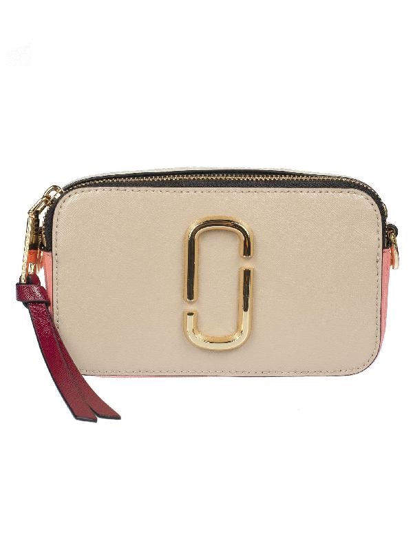 Marc Jacobs Snapshot Camera Shoulder Bag In Light Slate Multi