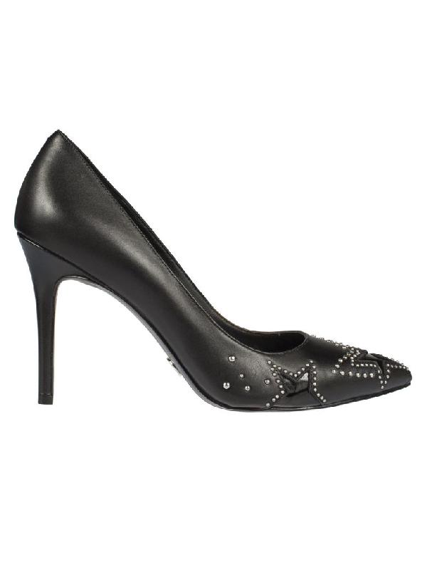 Michael Kors Starry Night Pumps Sandals In Black