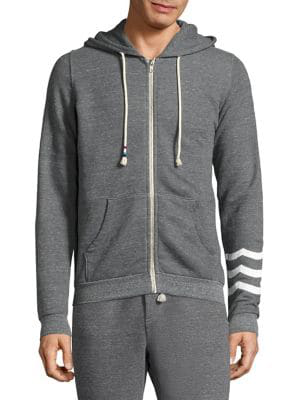 Sol Angeles Sol Essential Cotton Hoodie In Grey