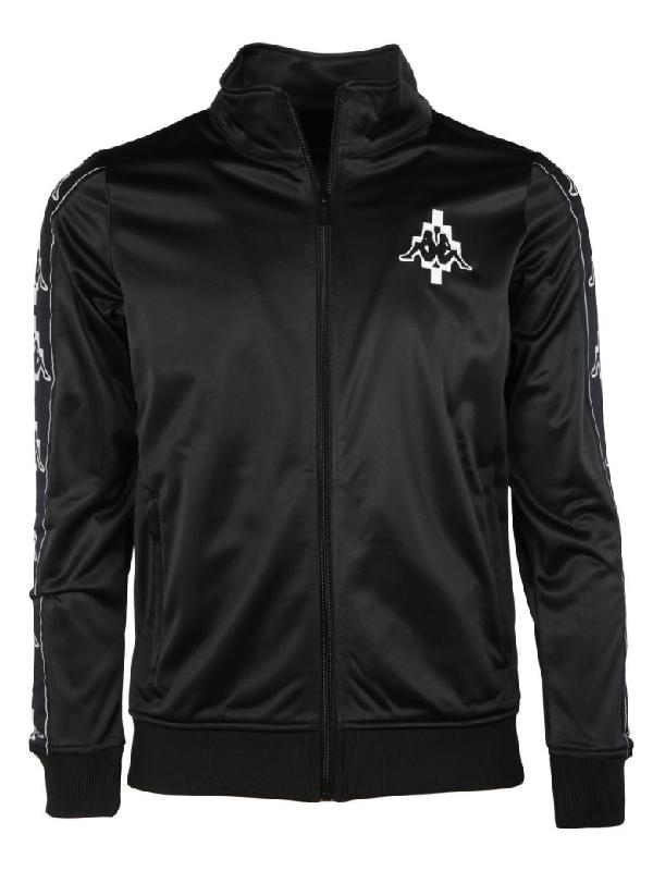 Marcelo Burlon County Of Milan Zip-up Jacket In Black