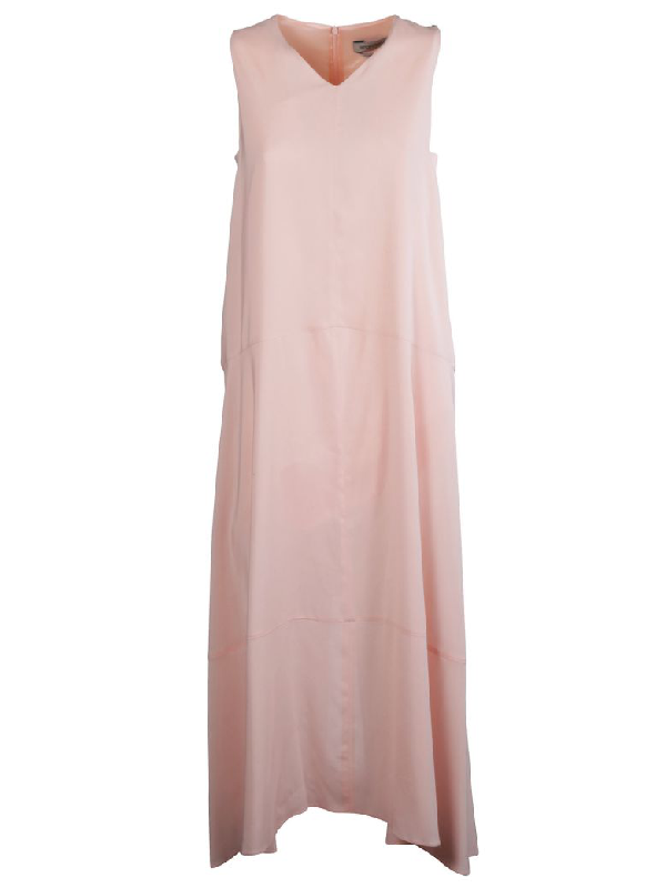 Sportmax Classic Dress In Pink & Purple