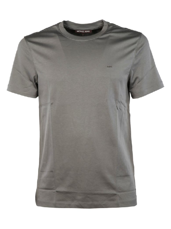 Michael Kors Sleek Liquid T-shirt In Storm