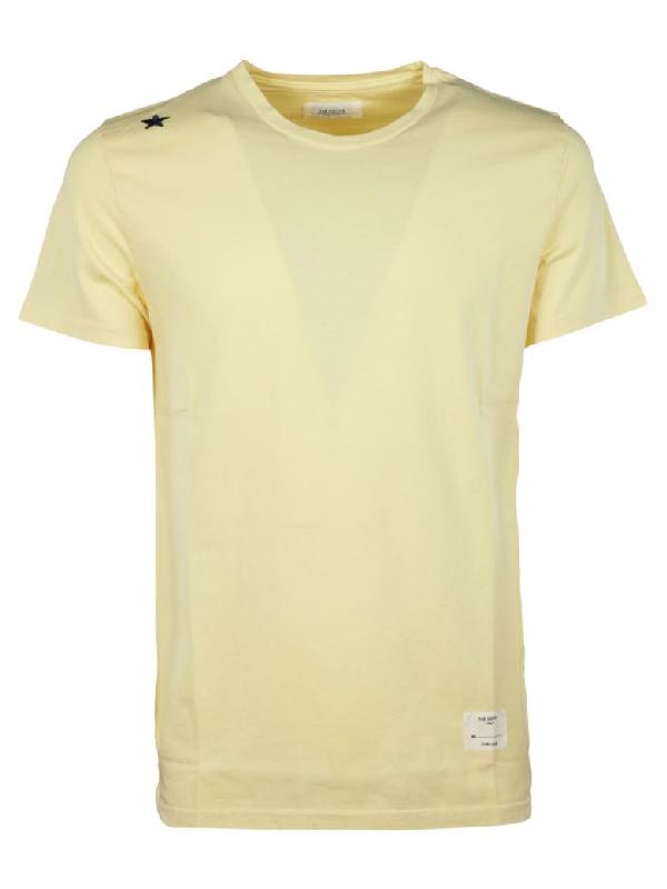 The Editor Star Print T-shirt In Basic