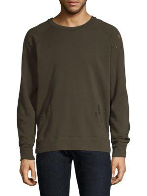 Iro Classic Cotton Sweatshirt In Khaki