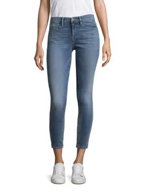 Frame Le Skinny De Jeanne Crop Jeans In Loehr