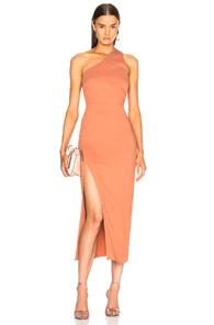 Michelle Mason Back Strap Dress In Pink