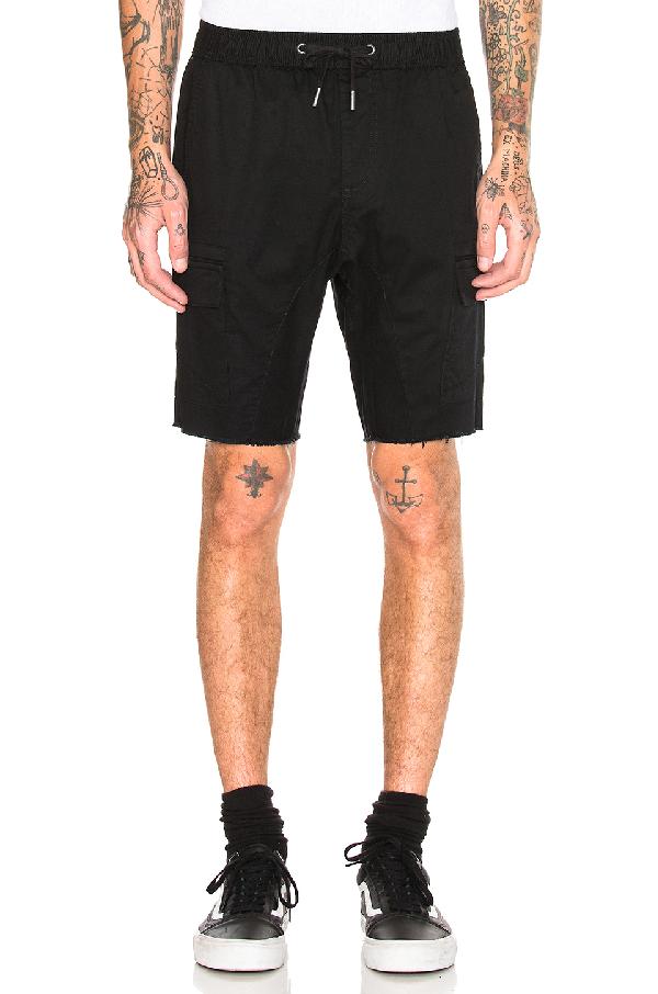 Zanerobe Sureshot Cargo Short In Black