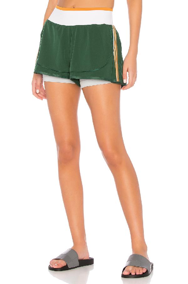 Adidas By Stella Mccartney Train High Intensity Short In Green
