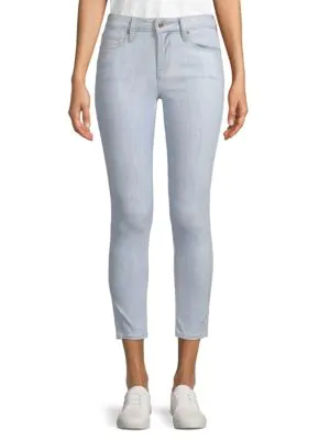 Genetic Los Angeles Daphne Mid-rise Skinny Jeans In Hermosa