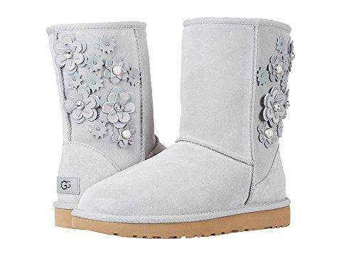 Ugg Classic Short Petal In Seal