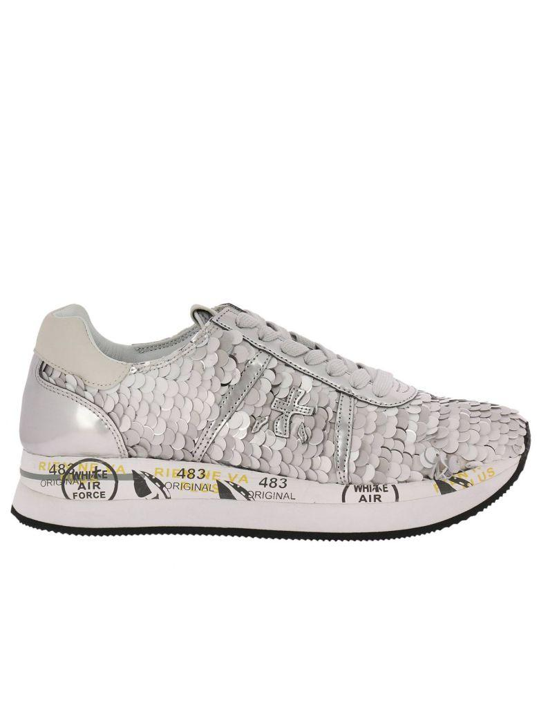 Premiata Sneakers Shoes Women  In Silver