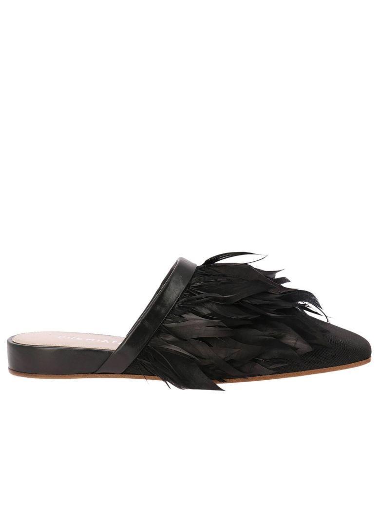 Premiata Ballet Flats Shoes Women  In Black