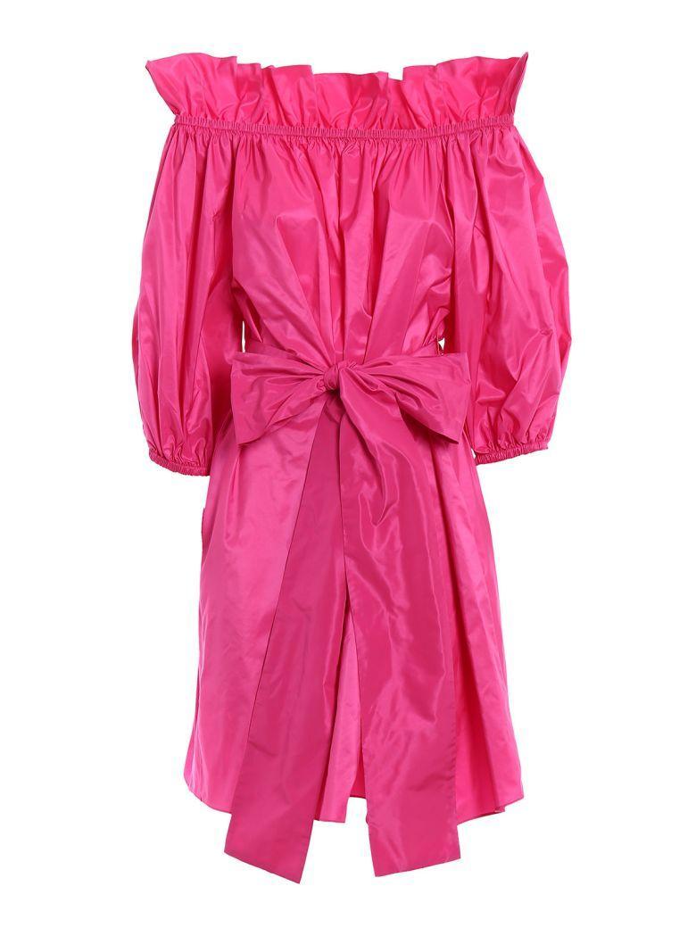Stella Mccartney Reyna Dress In Bright Pink