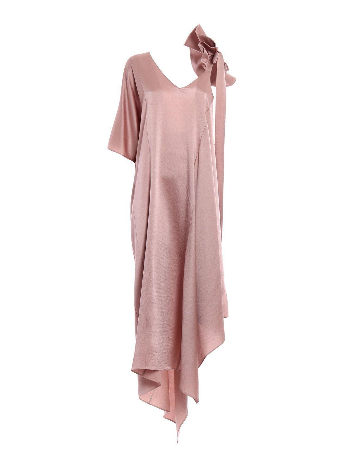Valentino Long Dress In Ddusty Rose