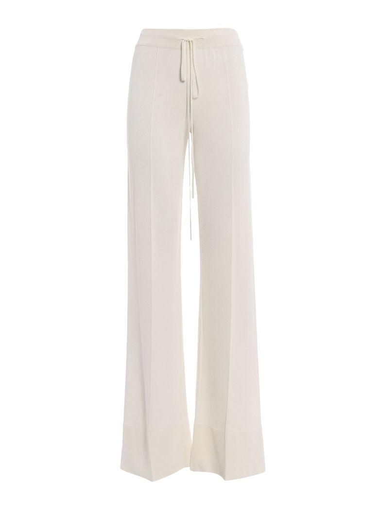 Ermanno Scervino Elasticated Waist Trousers In White