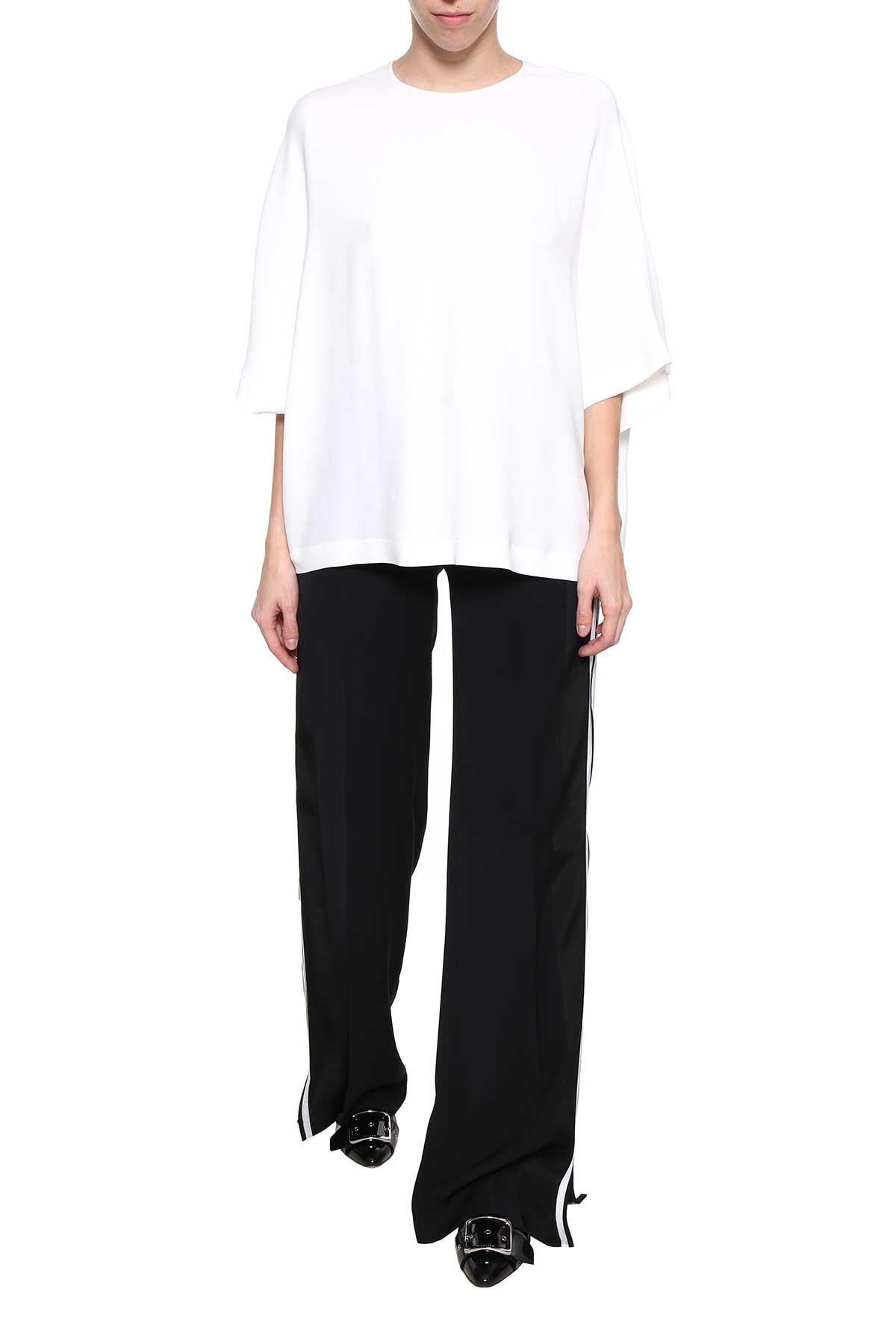 Pt01 Side Zipper Trousers From  In Nero