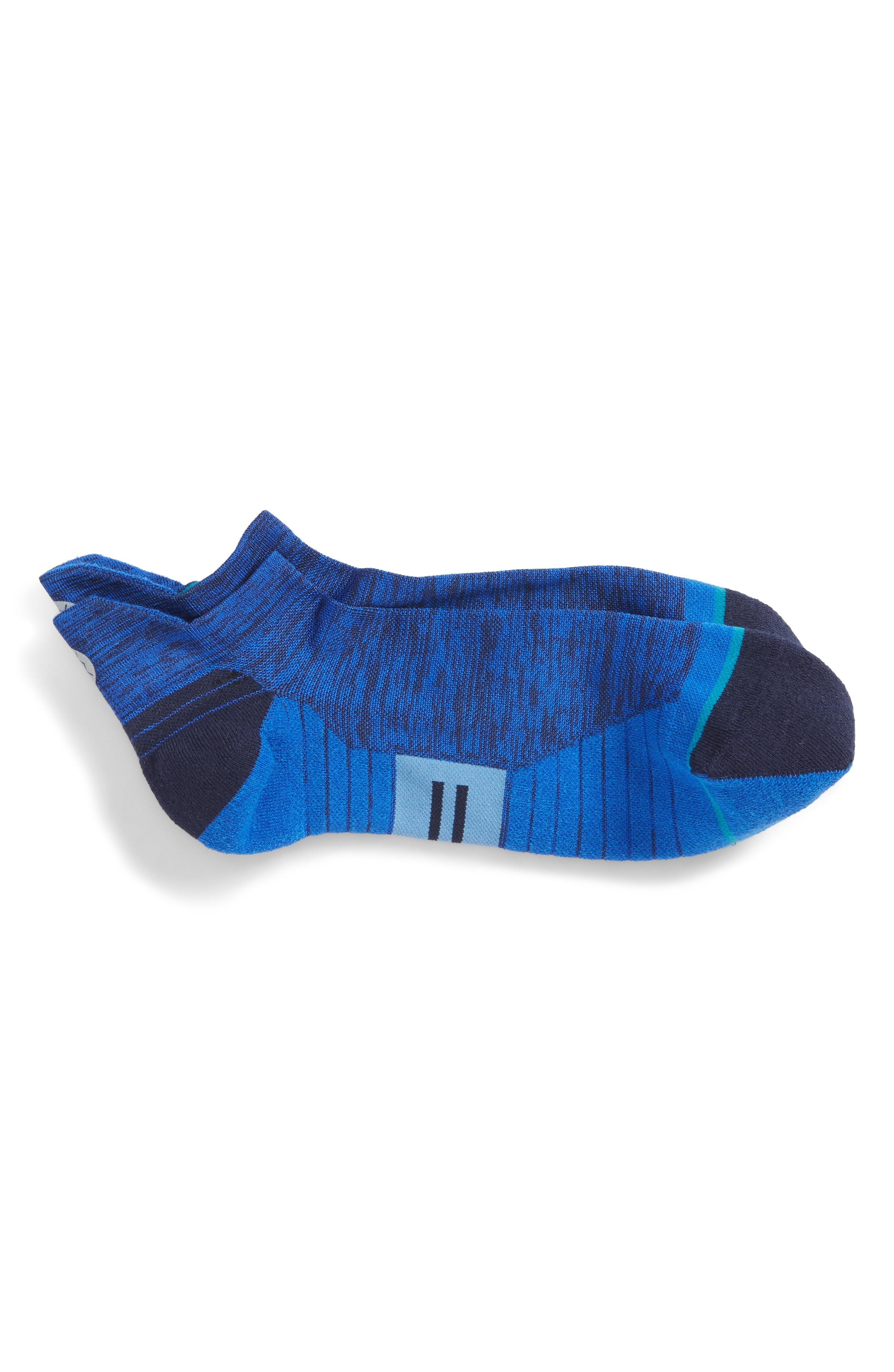 Stance Uncommon Solids Tab No-show Socks In Royal