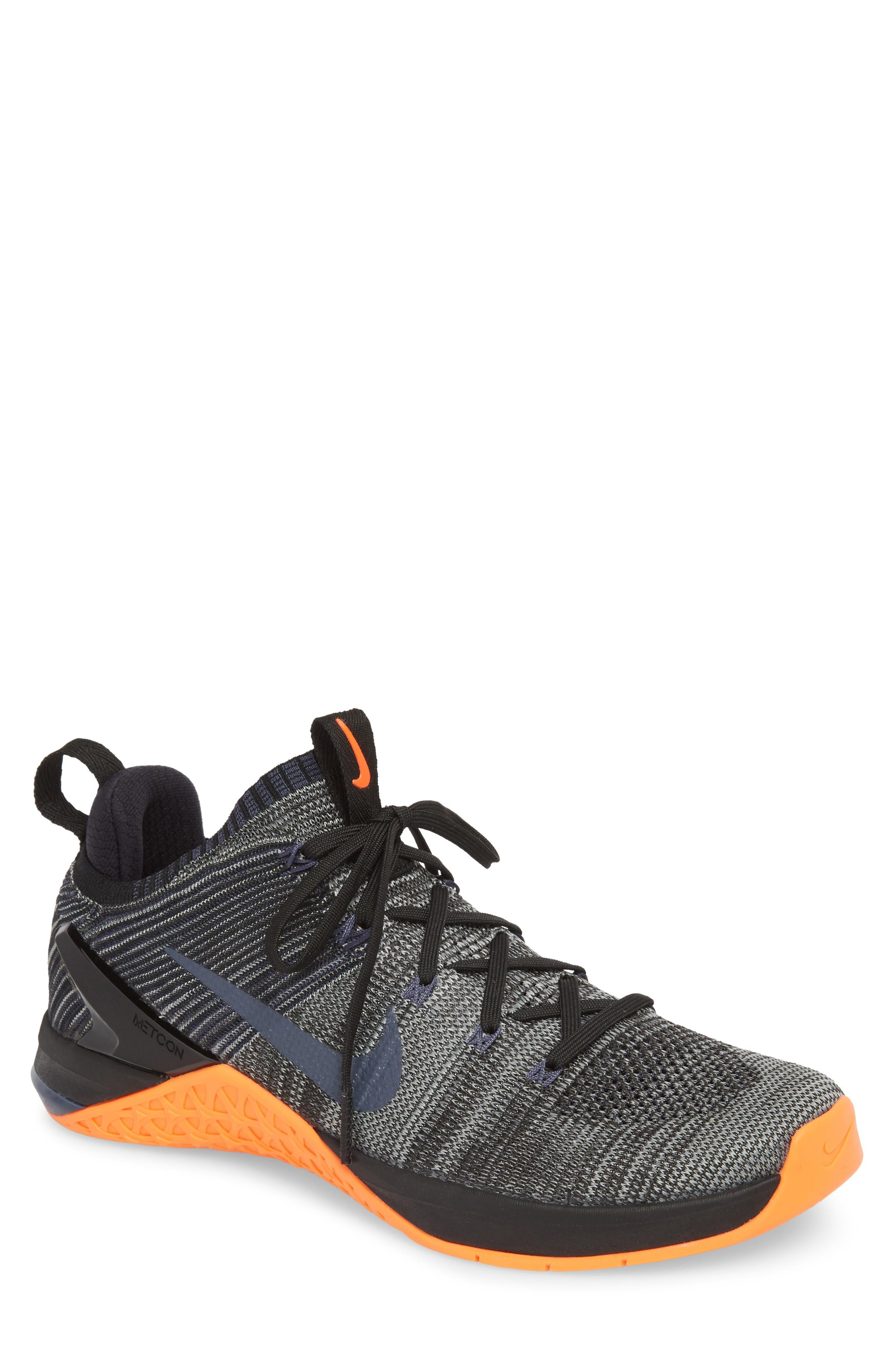 4b2c56748be7 Nike Metcon Dsx Flyknit 2 Training Shoe In Black  Thunder Blue  Crimson