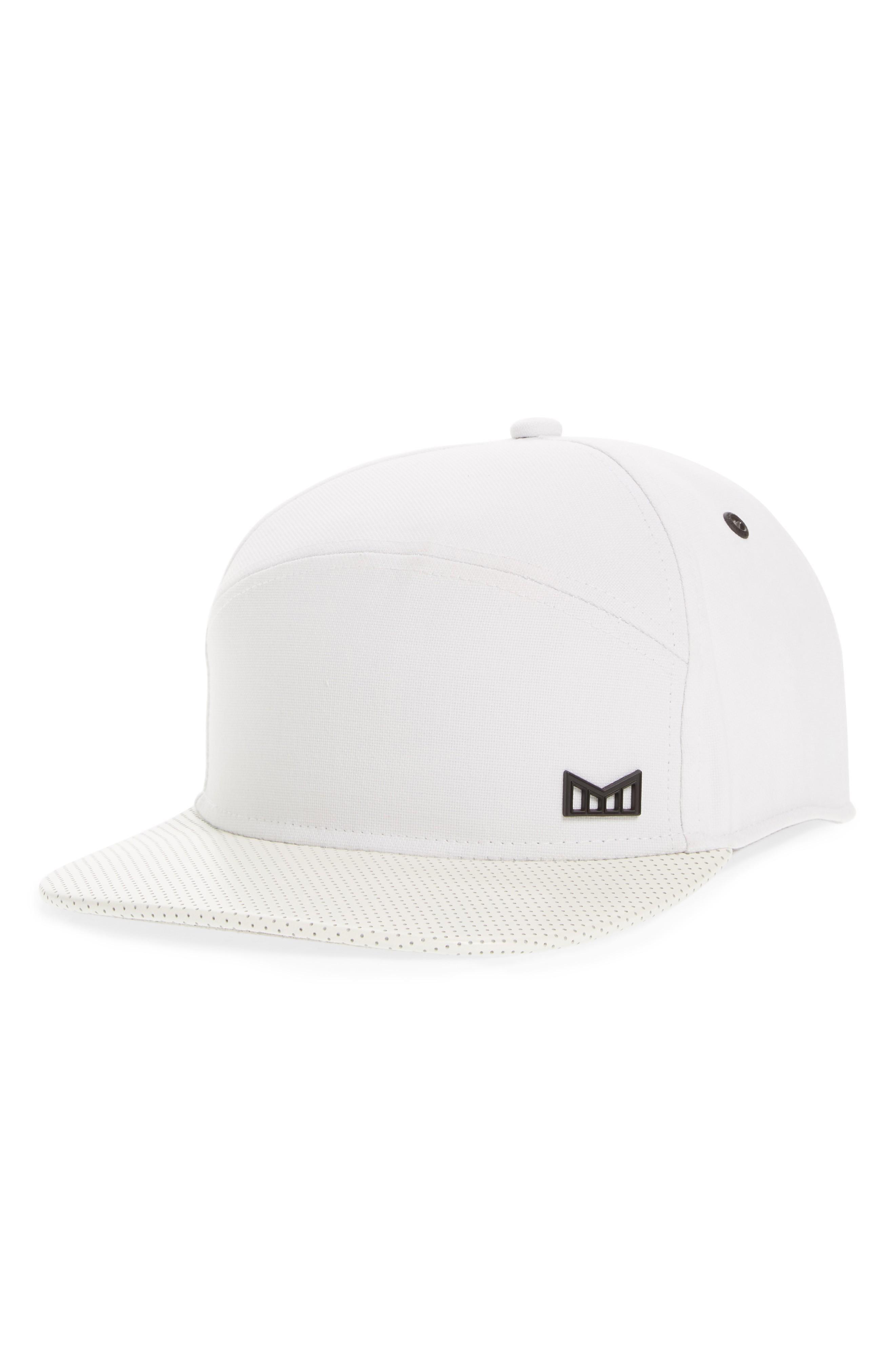 3385b34c0c9 Melin  The Vision  Horizon Fit Flat Brim Baseball Cap - White
