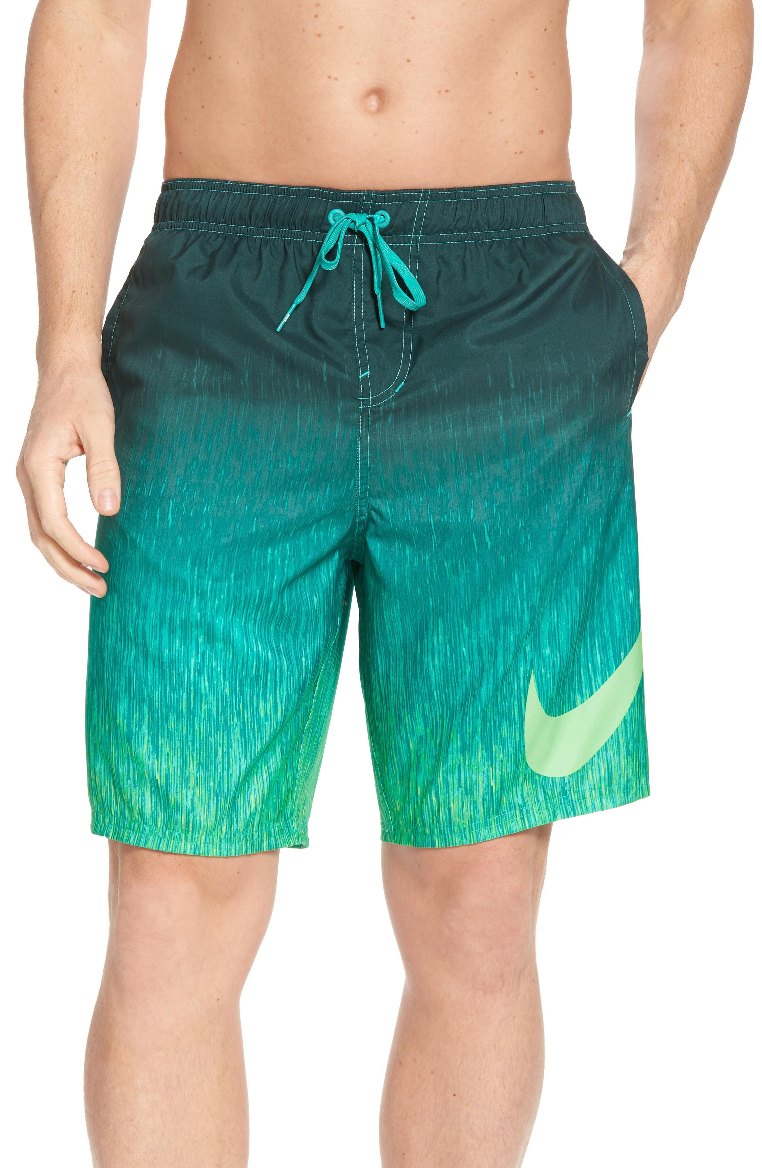 Nike Breaker Swim Trunks In Clear Emerald