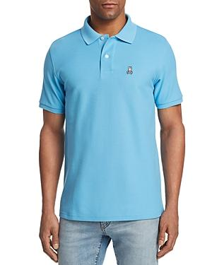 Psycho Bunny Short Sleeve Regular Fit Polo Shirt In Ethereal