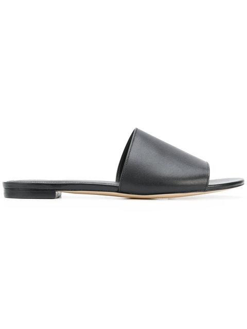 Michael Michael Kors Shelly Slide Sandal In Black
