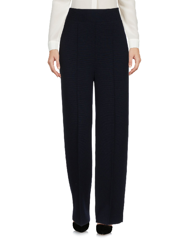 Jil Sander Casual Pants In Dark Blue