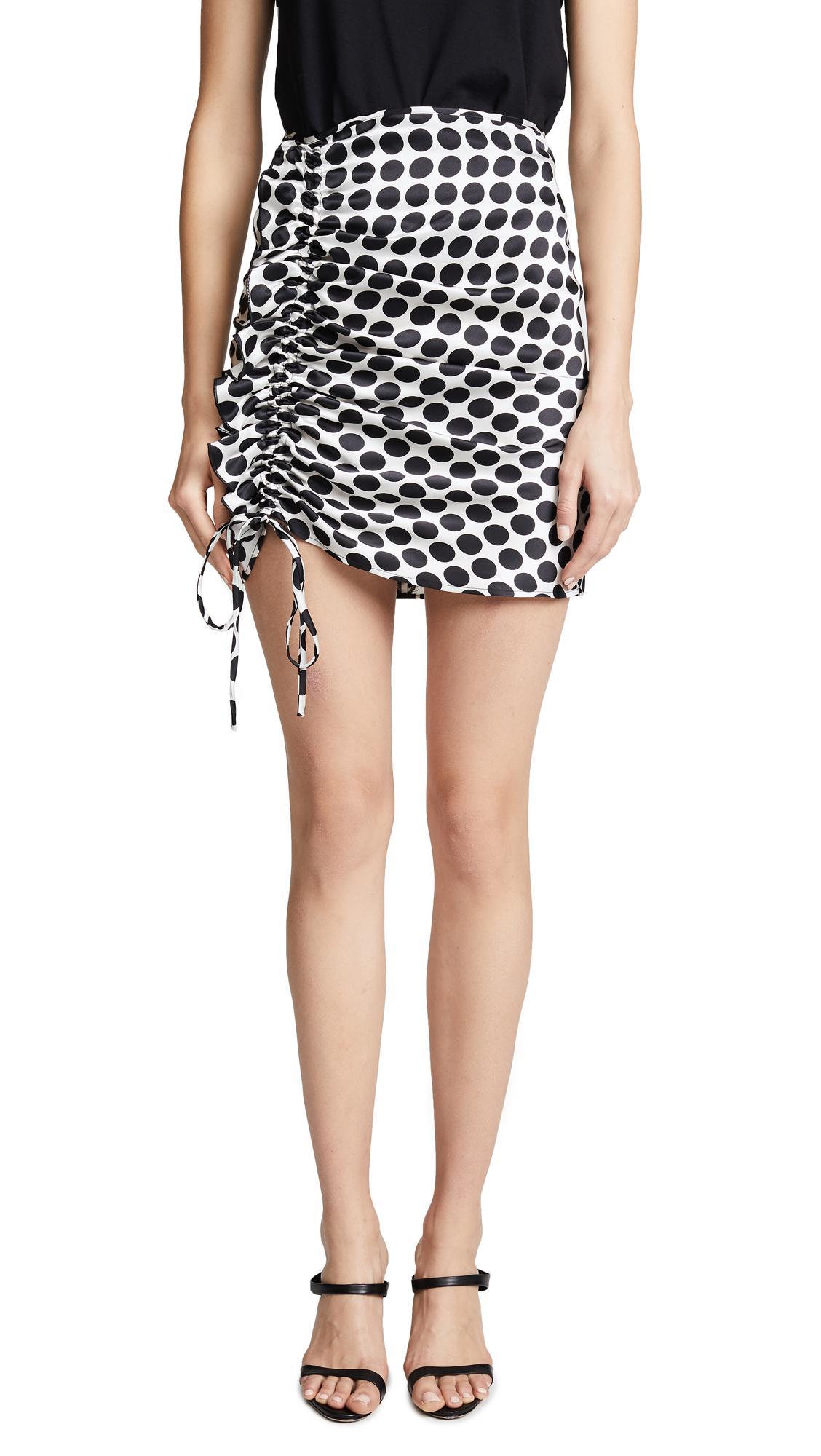 Delfi Collective Nia Skirt In Black