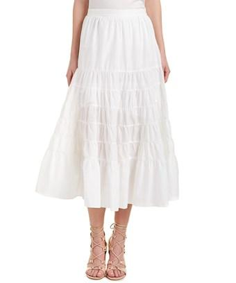 Maje Julyne Maxi Skirt In White