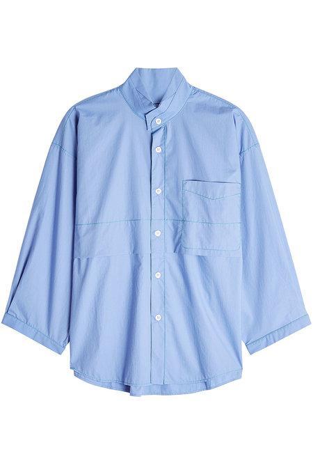 Marni Cotton Blouse In Blue